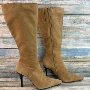 Diba Soft Suede High Heel Knee High Boots